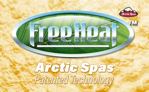 freeheat™ – arctic spas patented technology